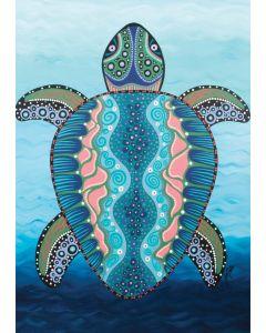 Sea Turtle A3 Table Puzzle 204pcs