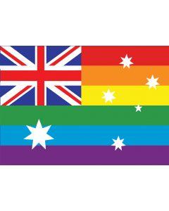 Rainbow Flag Puzzle 96pcs