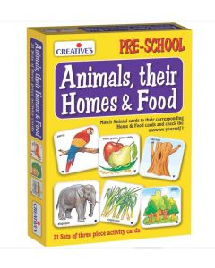 Animals, Their Homes and Food