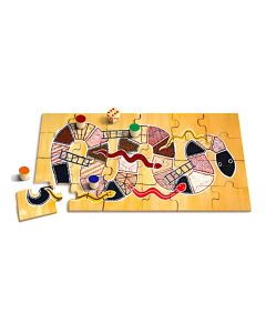 Large Serpents & Ladders Puzzle Game