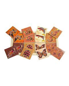 Aboriginal Creatures Large Memory Game