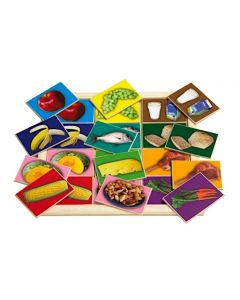 Healthy Food Large Memory Game