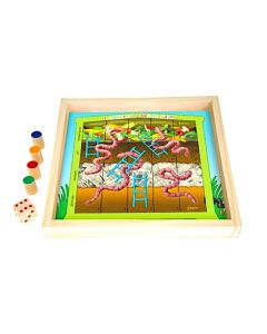 Worm Farm and Ladders Game