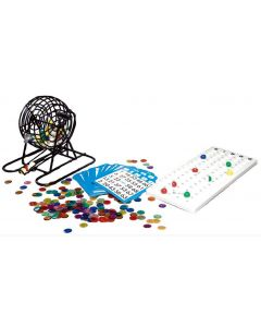 Bingo Number Cage, Cards and Balls