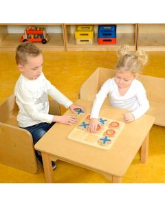 Wooden-Tic-Tac Toe Game