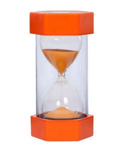 Large Sand Timer 1 Minute - Red