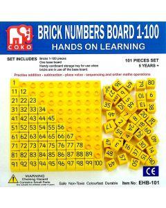 Coko Cube Brick 100s and Baseboard