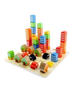 City Sequence and Graduation Board Set 35pcs