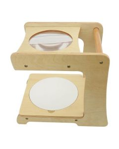 Wooden Magnifying Stand