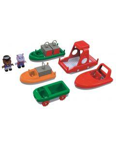 AquaPlay Boat Set 10pcs