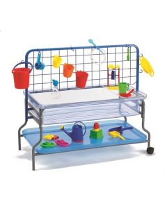 Deluxe Clear Water Playtray, Frame, Lid and Accessories Rack