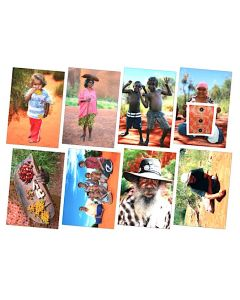 Aboriginal People Posters Set of 8
