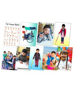 Different Abilities Poster Set of 9