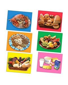 Healthy Food Posters Set of 6