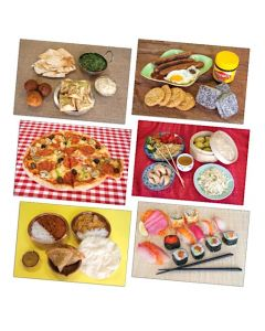 Food From the World Posters Set of 6