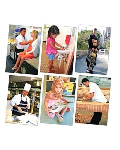 Multicultural People Posters Set of 6