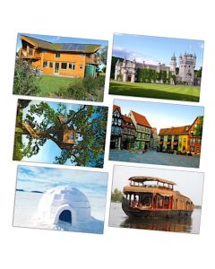 Houses of the World Posters Set of 6