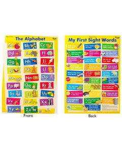 The Alphabet Double-Sided Poster