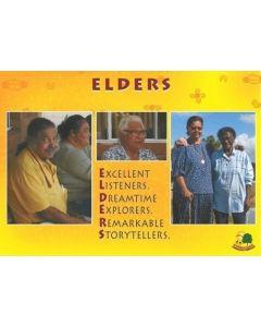 Aboriginal Elders Poster Laminated A3