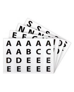 Alphabet Stickers 40 Sheets