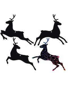 Scratch Art Reindeers 24pcs