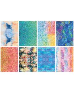 Impressionist Pattern Paper 40pcs