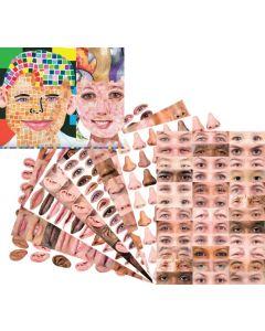 Parts Of Our Faces A3 Paper Sheets 40pcs