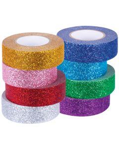 Washi Tape Glitter 8pcs