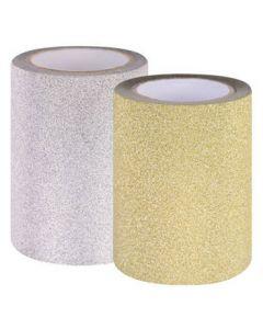 Glitter Ripper Adhesive Tape 10m x 7.5cm 2 Rolls