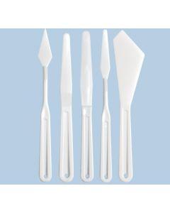 Plastic Palette Knives 5pcs