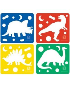 Dough Cutters Dinosaurs 4pcs