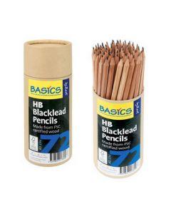 Blacklead Pencils HB 72pcs