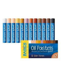Oil Pastels Skin Tones 12pcs