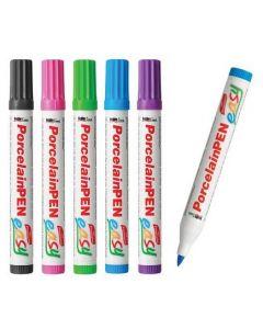 Porcelain Markers Pastel 5pcs