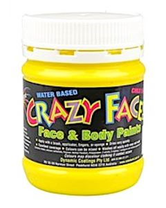 Face Paint 250ml Yellow