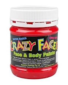 Face Paint 250ml Red
