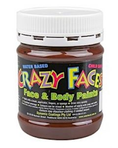 Face Paint 250ml Brown