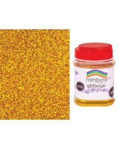 Glitter Flakes Gold 250g
