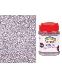 Glitter Flakes Silver 250g