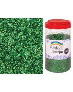 Glitter Flakes Green 250g