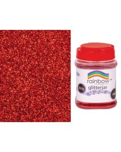 Glitter Flakes Red 250g