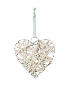 Natural Mesh Hearts 10pcs