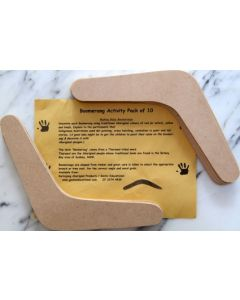 Decorate Your Own Boomerangs 10pcs