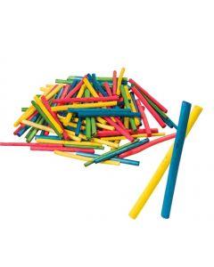 Coloured Bamboo Sticks 100pcs