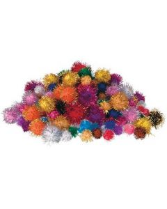 Pom Poms Glitter 200pcs