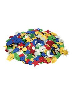 Sequins Shapes Assorted 25g