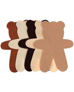 Felt Teddy Bears 30pcs