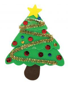 Foam Christmas Tree Kits Set of 20