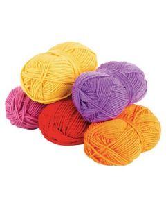Acrylic Wool Warm Asst 5pcs