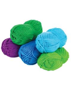 Acrylic Wool Cool Asst 5pcs